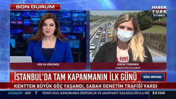 İstanbul'da tam kapanmanın ilk günü!