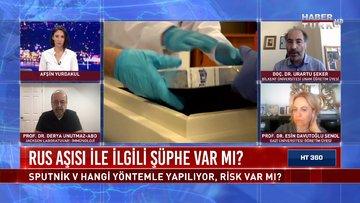 Türkiye'nin üçüncü aşısı: Sputnik V | HT 360 - 30 Nisan 2021