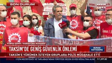 DİSK, 1 Mayıs'ta Taksim meydanında açıklamada bulundu
