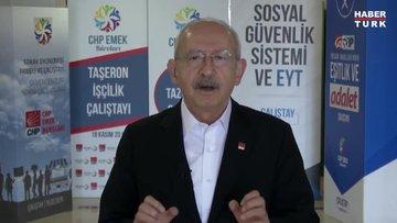 CHP Genel Başkanı Kılıçdaroğlu, 1 Mayıs Emek ve Dayanışma Gününü videolu mesajla kutladı
