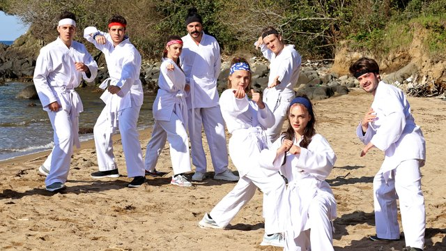 Ruhi-Li'den karate dersleri!