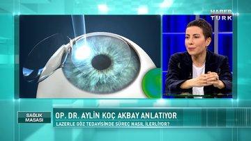Lazerle göz tedavisinde süreç nasıl ilerliyor? | Sağlık Masası - 1 Mayıs 2021