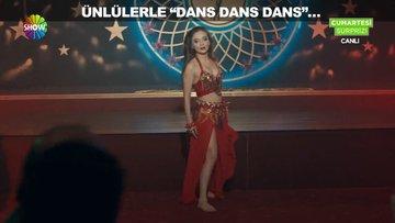 """Ünlülerle """"dans, dans, dans""""..."""