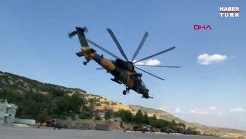 MSB: Pençe-Yıldırım Operasyonunda, 2 PKK'lı terörist atak helikopterimizle etkisiz hale getirildi