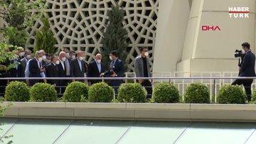 Cumhurbaşkanı Erdoğan Ümraniye Belediye Başkanı Yılmaz'ın babasının cenaze törenine katıldı