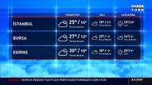 Meteoroloji açıkladı! Türkiye güneşli ve sıcak; gece sağanak geliyor