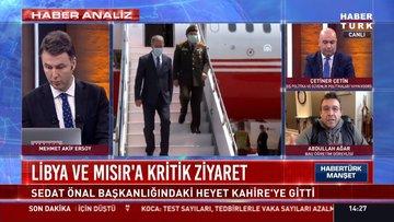 Bakan Akar ve Bakan Çavuşoğlu Libya'ya gitti