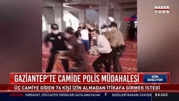 EGM'den Gaziantep'teki bir camide biber gazlı müdahaleye ilişkin açıklama