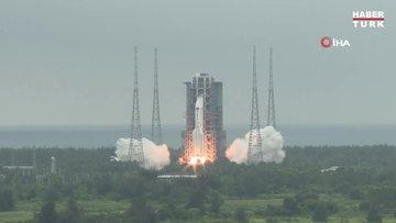Çin'in uzaya fırlattığı roket kontrolden çıktı: Dünyaya düşebilir!