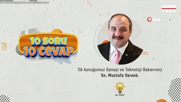 Bakan Varank'tan gençlerin sorularına samimi cevaplar