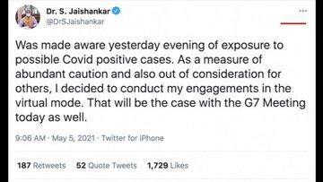 G7 toplantısına katılan Hindistan heyetindeki 2 kişinin Kovid-19 testi pozitif çıktı