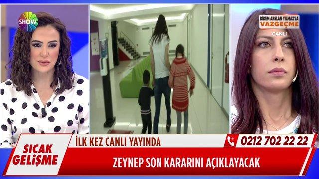 Sosyal Hizmetler yetkilileri Zeynep ve çocukları için stüdyoda!