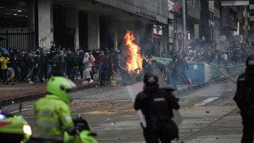 Kolombiya'daki vergi reformu karşıtı gösterilerde ölü sayısı 24'e yükseldi
