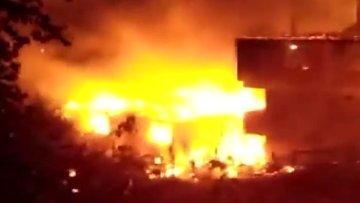 Kastamonu'da yıldırım düştü, 6 ev küle döndü