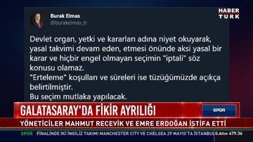 Galatasaray'da fikir ayrılığı