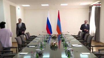 Rusya Dışişleri Bakanı Lavrov Ermenistan'da