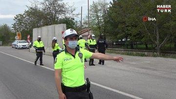 Trafik Haftası'nda sürücülere kurallar hatırlatıldı