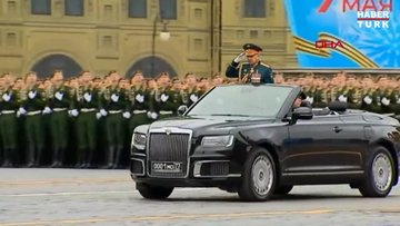 Rusya'da 9 Mayıs Zafer Günü törenlerle kutlanıyor