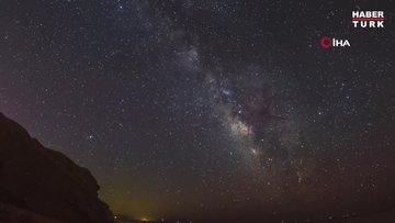 Samanyolu Galaksi'si Türkiye'den böyle görüntülendi