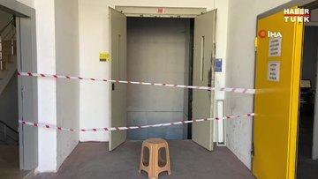 Asansör boşluğuna düşen adam hayatını kaybetti