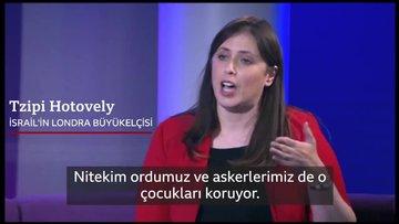 BBC sunucusu İsrail Büyükelçisi'ne sordu: Ateş açtığınızda çocukların öldüğünü neden kabul etmiyorsunuz?