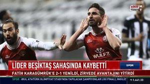 Spor Bülteni - 12 Mayıs 2021 (Lider Beşiktaş sahasında kaybetti)