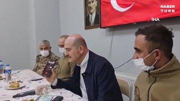 Cumhurbaşkanı Erdoğan, Yüksekova Düztepe Üs Bölgesi'nde görevli askerlerin bayramını kutladı