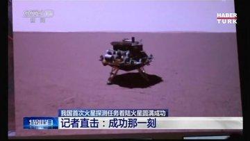Çin'in keşif aracı ilk kez Mars'a indi!