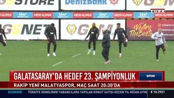 Galatasaray'da hedef 23. şampiyonluk