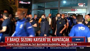 Fenerbahçe, Süper Lig'i Kayseri'de noktalayacak