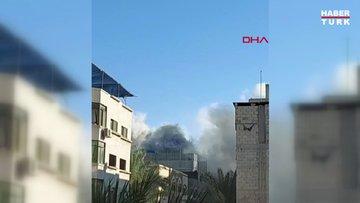 İsrail, Gazze'deki yerleşim yerini böyle vurdu!
