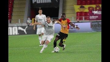 Göztepe - Beşiktaş maçının fotoğrafları