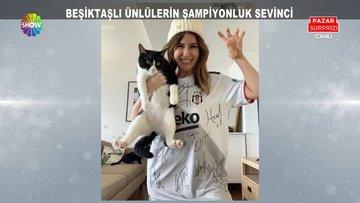Beşiktaşlı ünlülerin şampiyonluk kutlamaları!