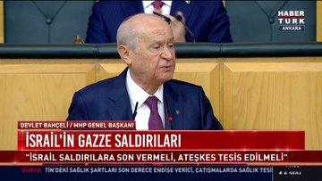 MHP lideri Bahçeli: CHP ve İP'i dikkatli düşünmeye davet ediyoruz
