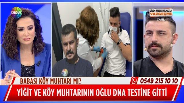 Yiğit Bey ile köy muhtarının oğlu DNA testine gitti!