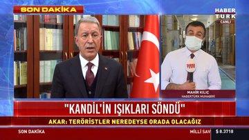 Milli Savunma Bakanı: Kandil'in ışıkları söndü