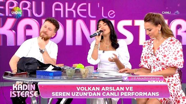 Volkan Arslan ve Seren Uzun'dan türkü ziyafeti!