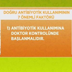 Doğru antibiyotik kullanımının 7 faktörü