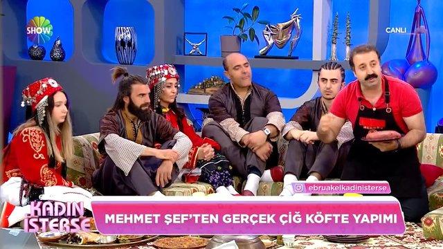 Mehmet Şef'ten gerçek çiğ köfte yapımı