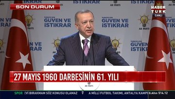 Cumhurbaşkanı Erdoğan: Anayasa çalışmamızı tamamladık