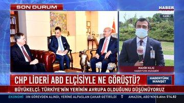 CHP lideri Kılıçdaroğlu ABD Büyükelçisi Satterfield ile görüştü