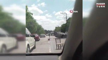 İlker Aksum trafik kazası geçirdi