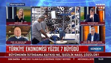 Türkiye ekonomisinin 2021 yılının ilk çeyreğine ilişkin büyüme rakamları açıklandı