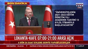 Son dakika haberi Cumhurbaşkanı Erdoğan'dan önemli açıklamalar