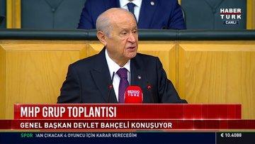 MHP lideri Bahçeli'den 'erken seçim' mesajlarına yanıt