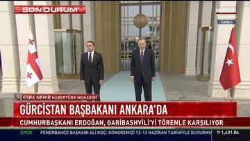 Gürcistan Başbakanı Ankara'da