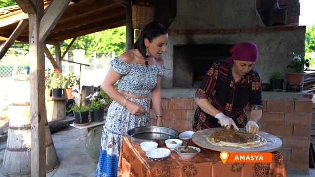 Karadeniz kahvaltılarının sevilen tadı Burma Çöreği