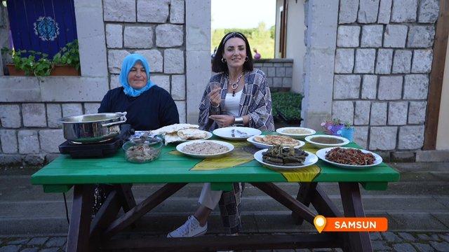 Samsun'un kutlama yemeği