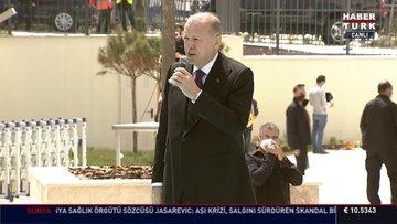 Cumhurbaşkanı Erdoğan: Camilerimiz, inancımız üzerinden operasyon çekmeye çalıştılar