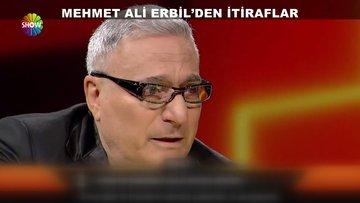 Mehmet Ali Erbil gözyaşlarını tutamadı!